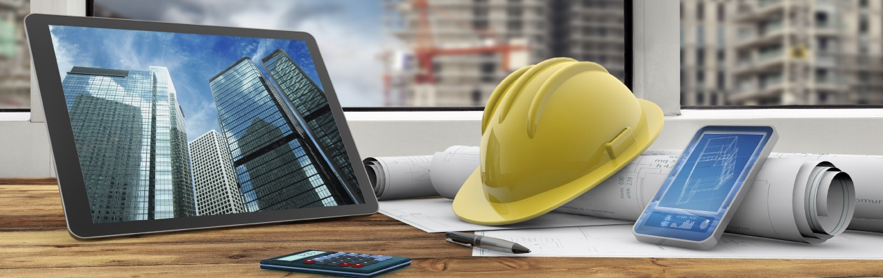 General Contractors Estimating Software Header Background, hat