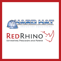 Hard Hat and Red Rhino Logos