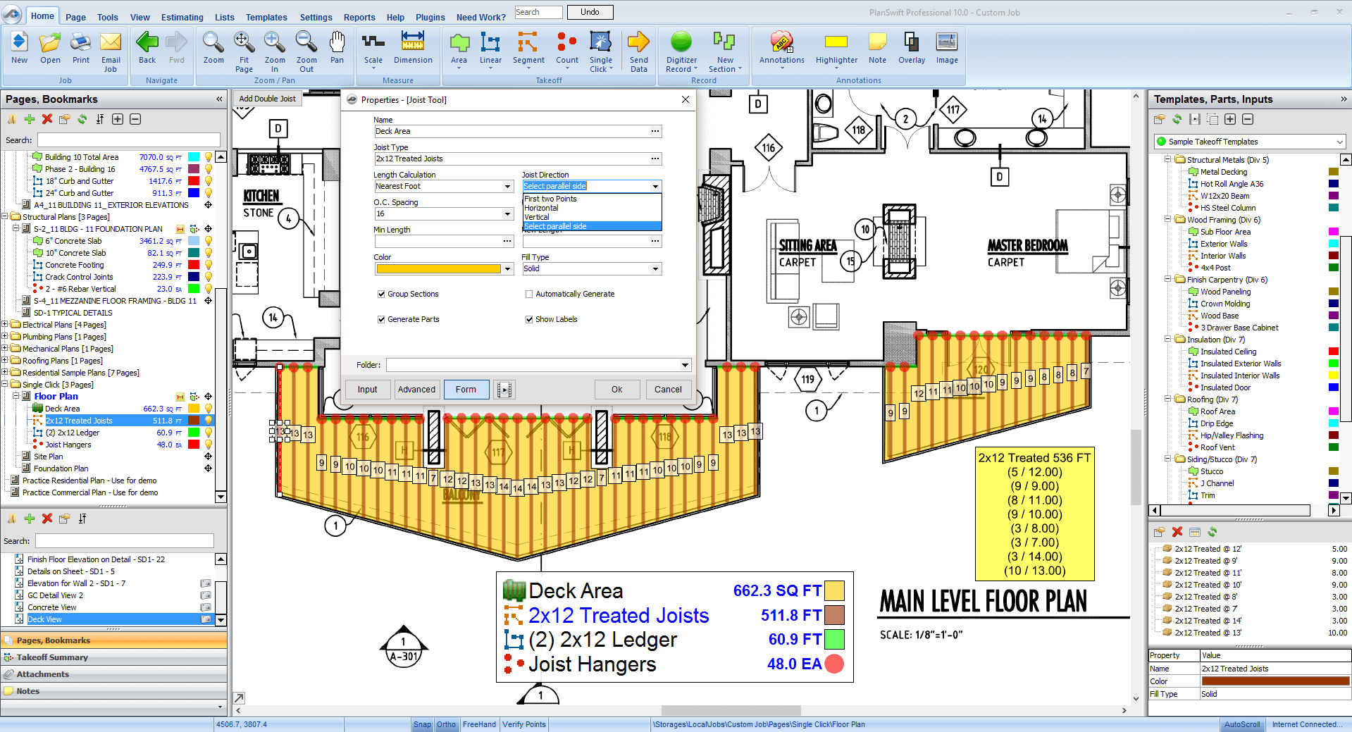 Deck Estimating Software Free Trial Planswift