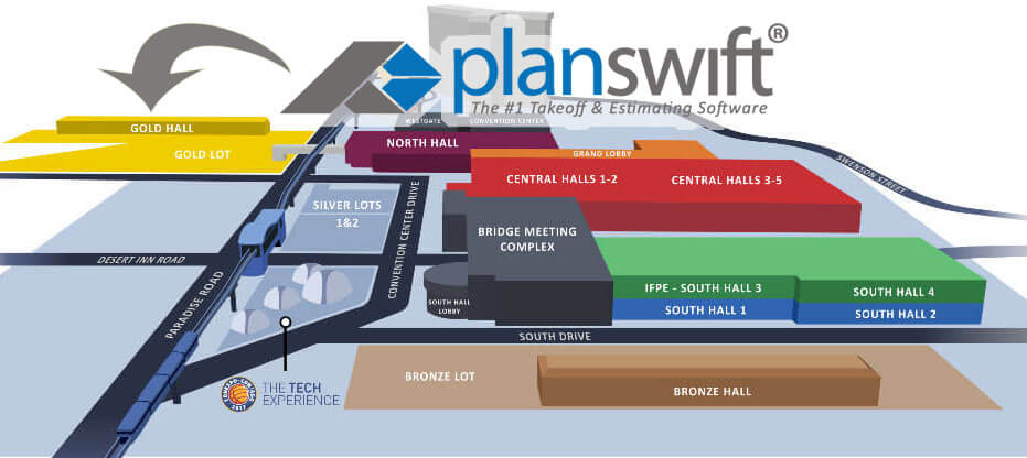 ConExpo Overview Map