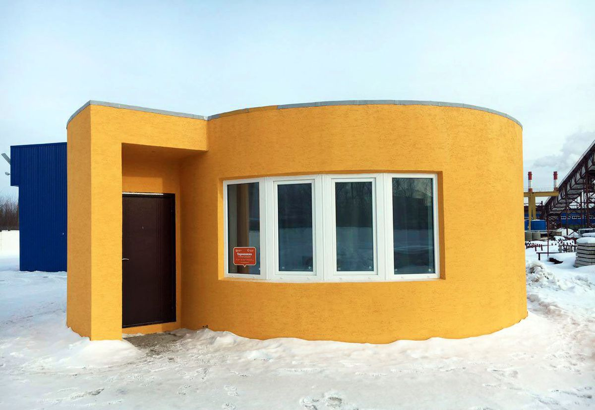 3D-Printed House made in just 24 hours!