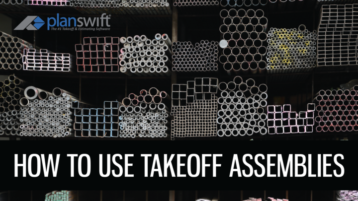 How to: Use Takeoff Assemblies