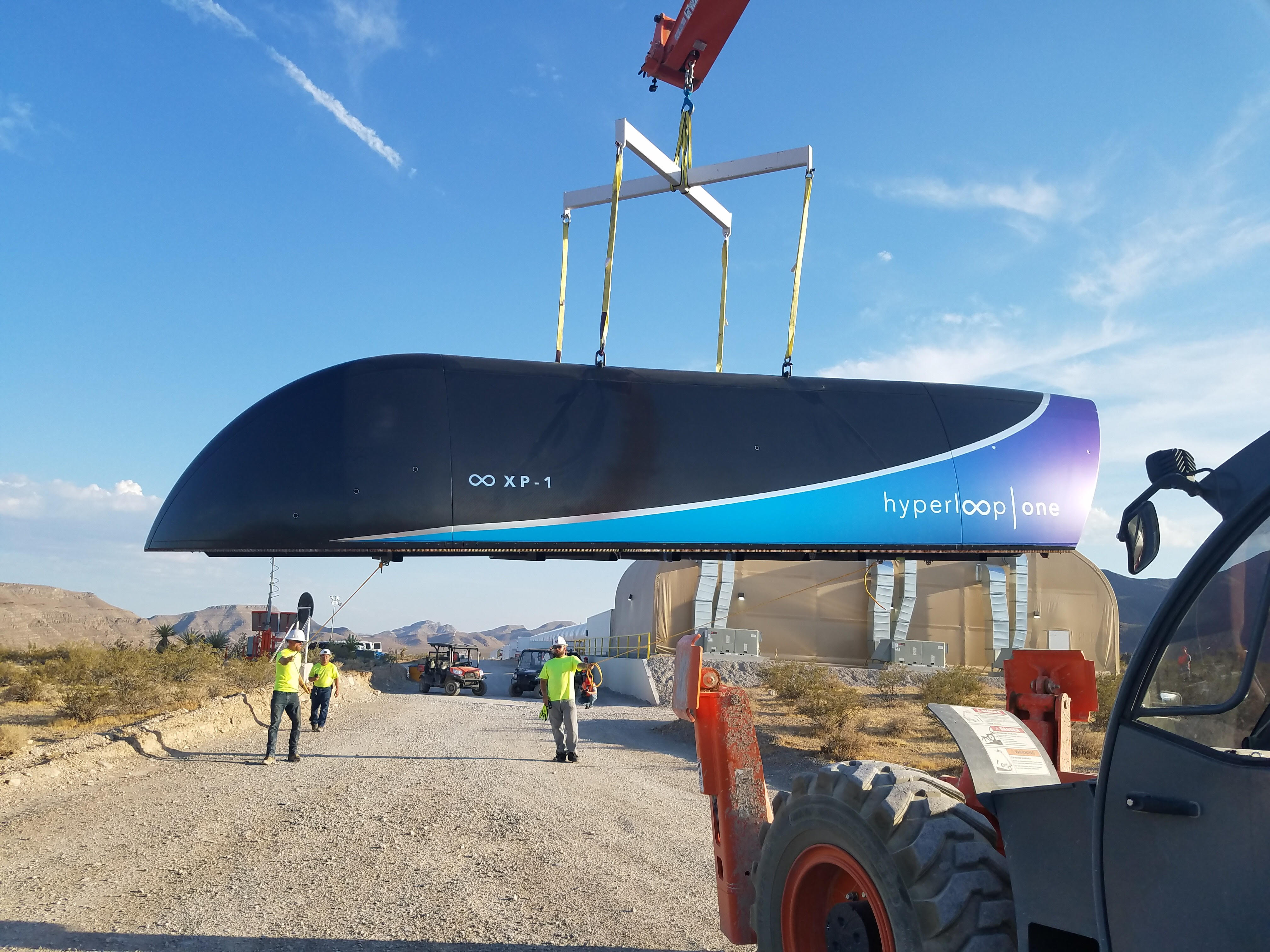Hyperloop One – The Future of Transportation