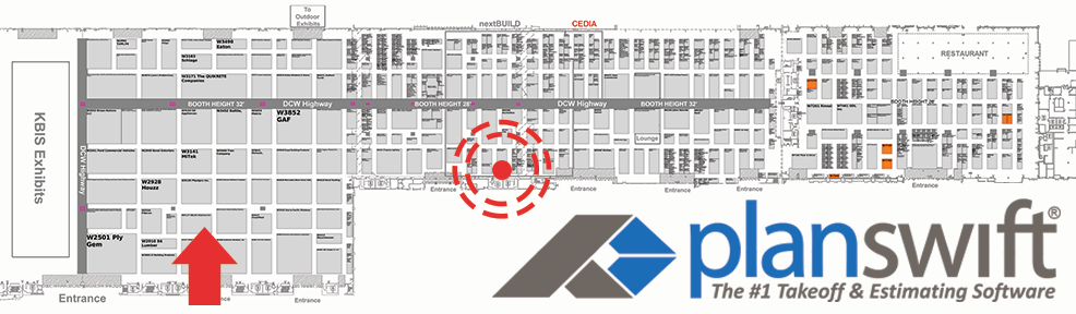 PlanSwift Booth W5241 - OCCC West HAll