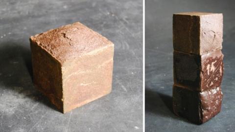 Bricks made of blood