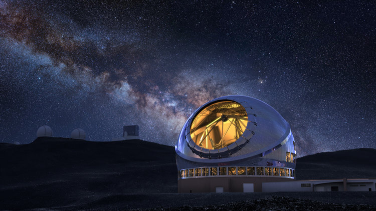 Construction on hawaii telescope gets the go ahead planswift.com