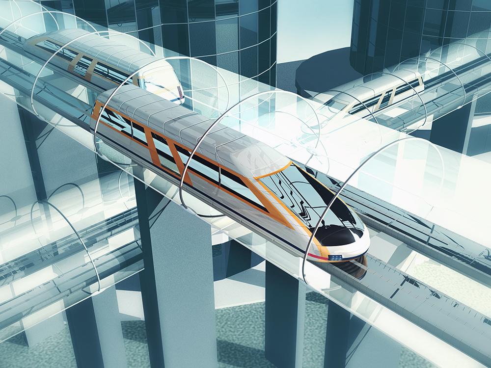 Third Hyperloop Test Track under Construction