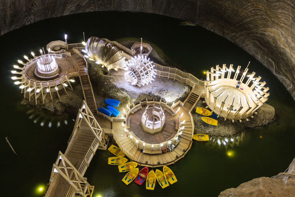 Salina Turda – The Underground Amusement Park