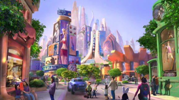 Zootopia Themed Land in Shanghai Disneyland Begins Construction